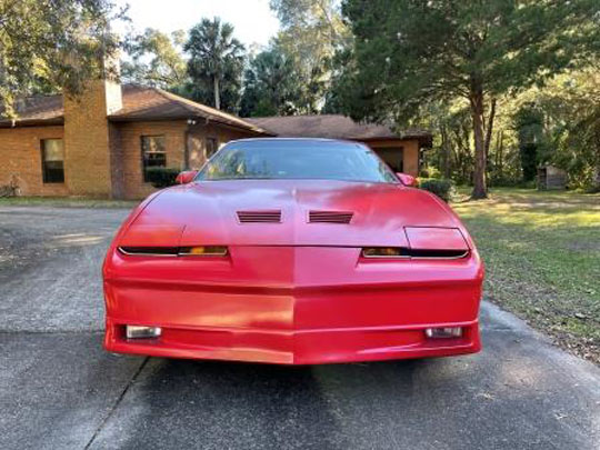 1988 red Trans Am