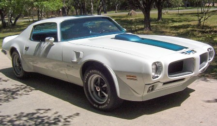 Josie's 1970 Trans Am at Pontiac Southern Nationals
