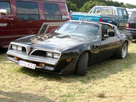 '79 Trans Am of Kurt Vangeel