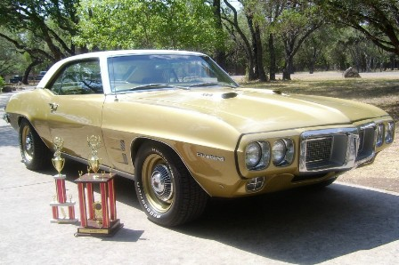 Best of show at Pontiac Southern Nationals - 1969 Firebird of Jay Lord