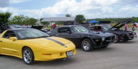 Pontiac Southern Nationals cars