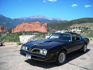 Steve Thompson '77 Bandit at Garden of Gods Lookout