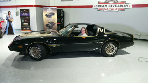 '79 Trans Am SE Bandit of Michael and Karen Bianchino from Anaheim Hills, California (winner of Bandit Dream Giveaway Sweepstakes)