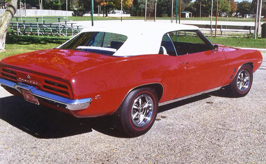 '69 Firebird of George N. Farley from Ferndale, Michigan