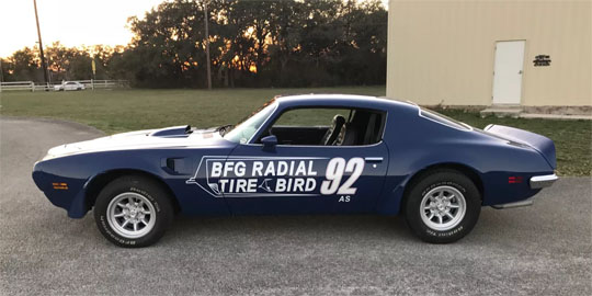 BFG Tirebird Promotional Car