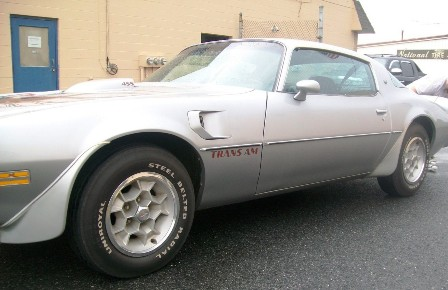 '71 Trans Am of Mike Mangone