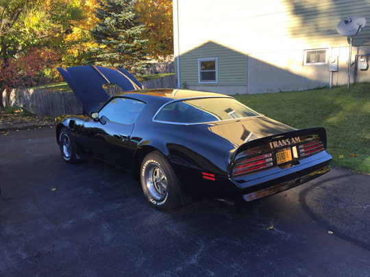 '76 Trans Am of Chuck Lincoln from Liverpool, New York