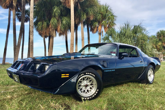 '79 Trans Am of Michael Bartholomew from Dunedin, Florida