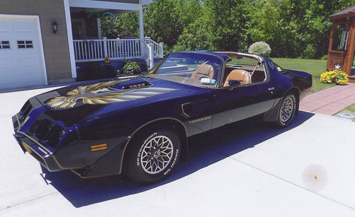 79 Trans Am S.E. of Ken & Darlene Szymczak from Dunkirk, New York