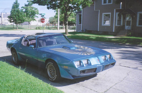 '71 Trans Am of Kevin Janusek