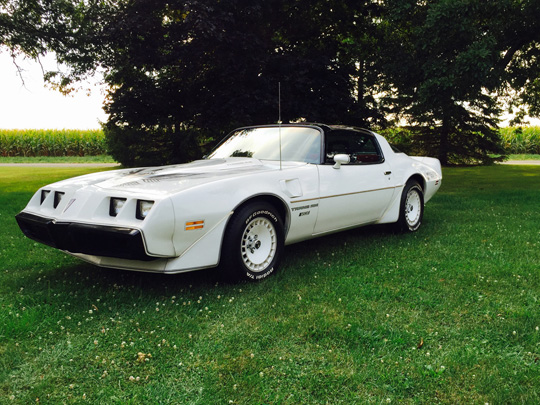 1981 Turbo Trans Am Pace Car of Justin Carr from Bloomington, Illinois