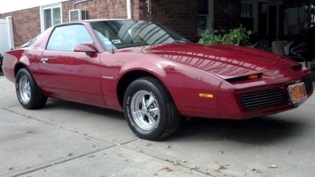 '82 Firebird of Anthony Crispino