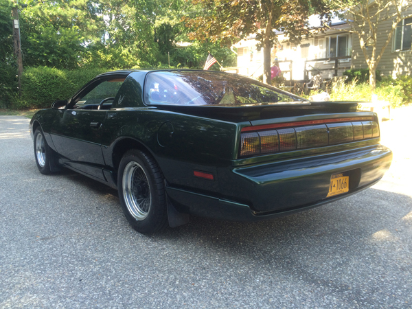 and#8216;91 Trans Am of Arthur J Huneke Jr from Patchogue, New York