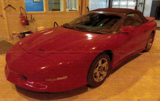 '95 Trans Am of Tommy Young from Centreville, Michigan