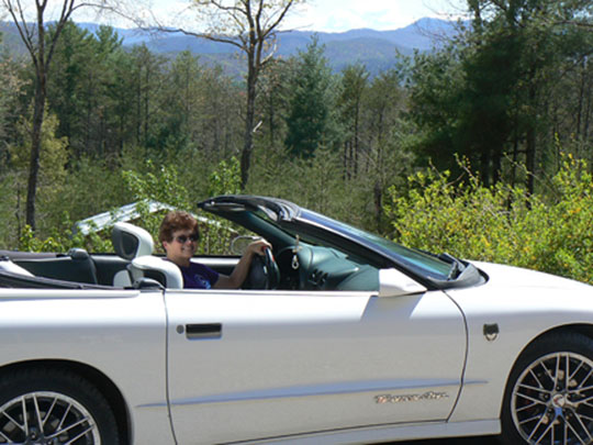 95 Trans Am of Barbara Lewinski from Tellico Plains, Tennessee