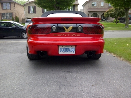 '98 Trans Am of Tom Buhner