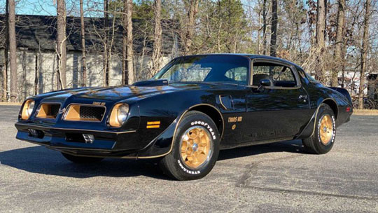Black and Gold Trans Am