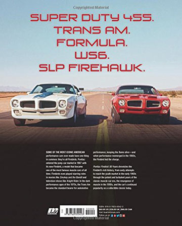 Book Review: Pontiac Firebird: 50 Years