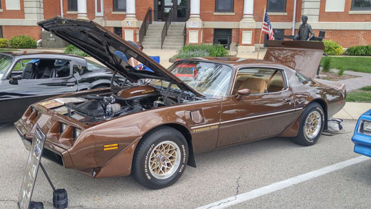 Firebird and Trans Am Day at the Museum