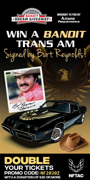 Win This Bandit Trans Am!